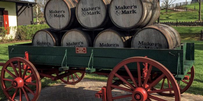 Blog: Sampling Maker's Mark Wood-Customization Program