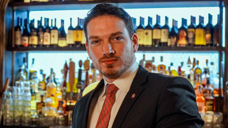 Ervin Machado, beverage director and sommelier for Big Time Restaurant Group