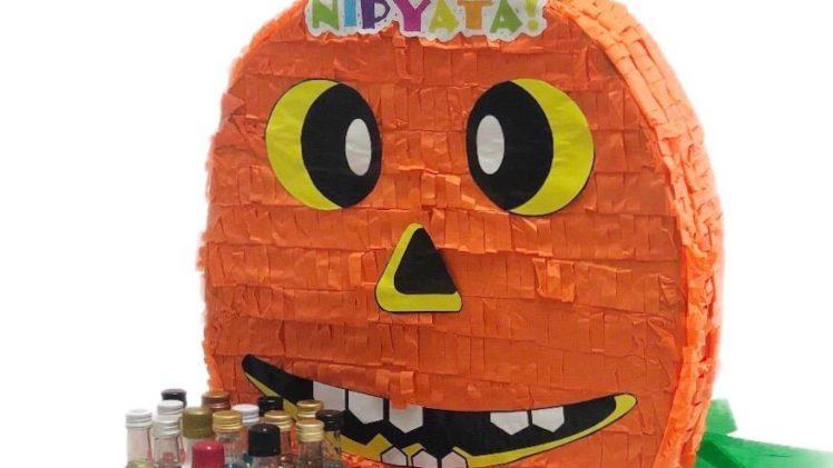 A Halloween-themed NIPYATA piñata